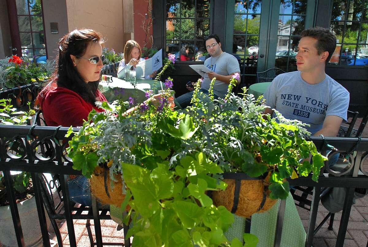 Patio at Cafe Madison,1094-1108 Madison Ave., Albany