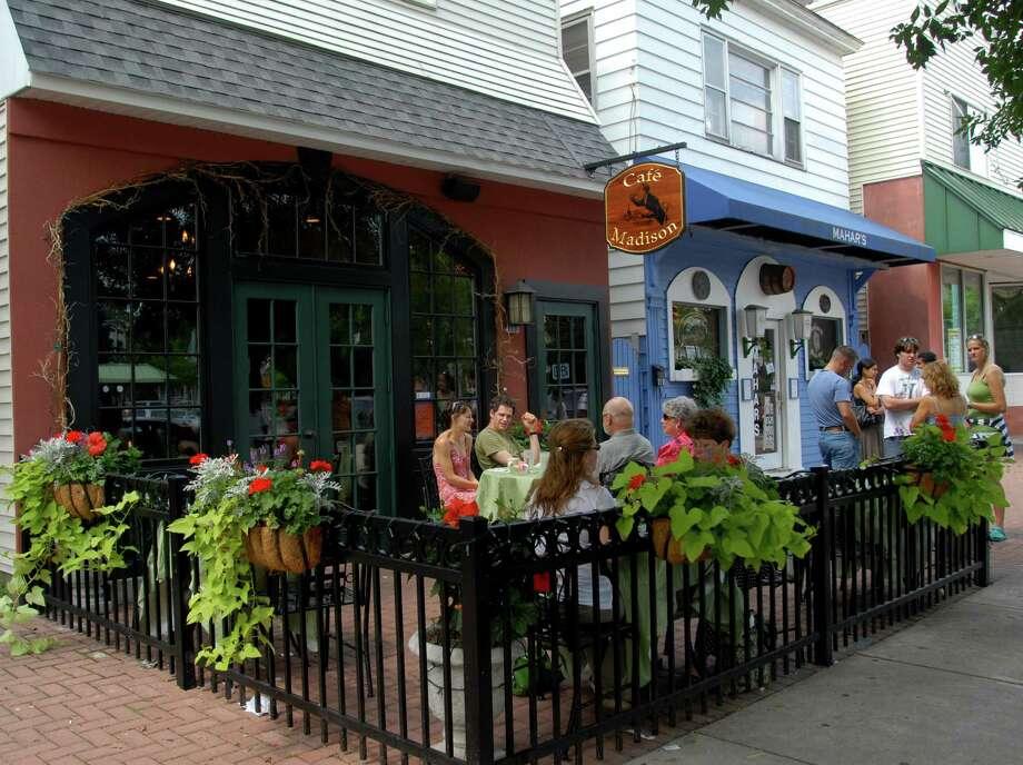 The original Cafe Madison on 1108 Madison Ave. in Albany. Photo: /518Life / ALBANY TIMES UNION