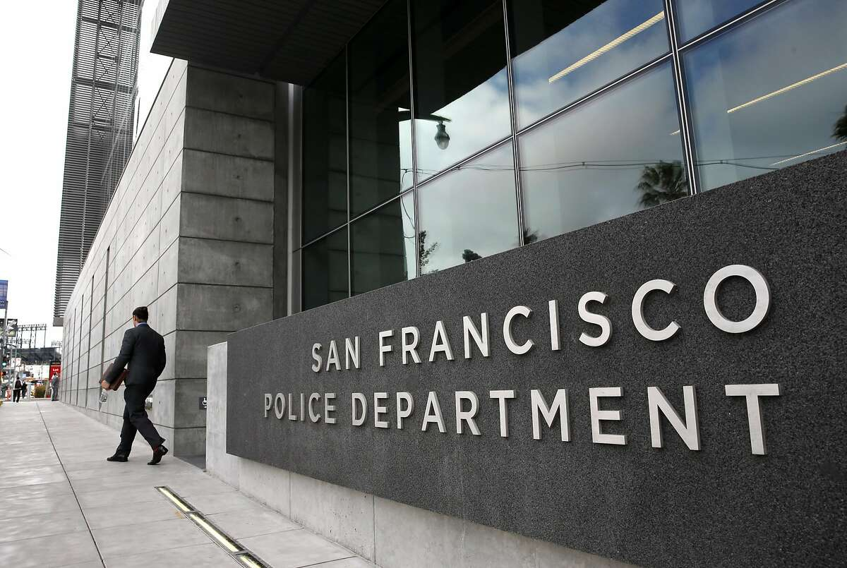 A view looking north along 3rd St. of the newly completed Public Safety Building which is home to San Francisco Police Headquarters, a neighborhood police station and a restored neighborhood fire station, as seen on Thurs. May, 21, 2015, in San Francisco, Calif.