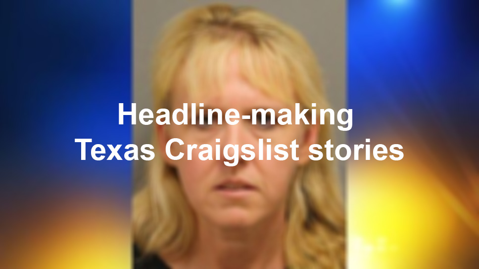 Headline Making Texas Craigslist Stories San Antonio