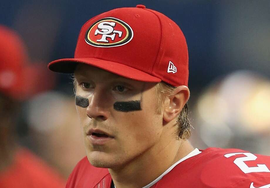 Blaine Gabbert: $1,750,000 San Francisco 49ers | NFL experience: 4 | Age: 25 2014 stats: Passing: 3 completions on 7 attempts for 38 yards, touchdown Rushing: 1 attempt for 5 yards The former No. 10 overall pick in 2011 flamed out with the Jacksonville Jaguars, but found a home in San Francisco as Colin Kaepernick's backup. He signed a two-year, $4 million deal in March and is scheduled to make $53,132 more than Russell Wilson this season. Photo: Christian Petersen, Getty Images