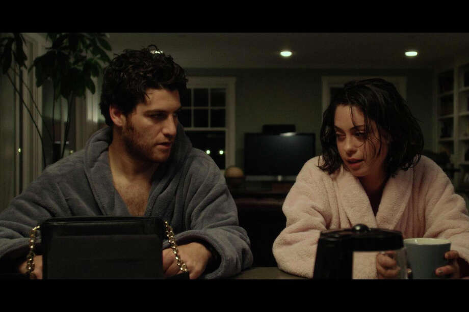 """Adam Pally and Rosa Salazar star in """"Night Owls,"""" one of 31 films that will be shown at the inaugural Greenwich International Film Festival in Greenwich, Conn. It was directed and co-written by Charles Hood, a Los Angeles-based filmmaker who grew up in Fairfield, Conn. It is an award-winning comedy-drama that tells the tale of a one-night stand gone wrong. Photo: Contributed Photo / Stamford Advocate Contributed photo"""