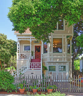 2223 Grant St. is a five-bedroom Victorian in central Berkeley.