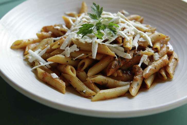 Penne alla Siciliana at  Mascalzone