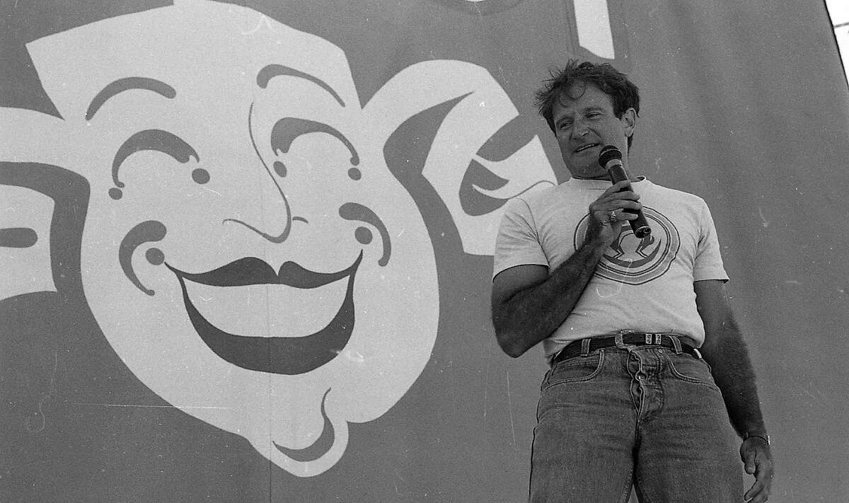 File photo of Chronicle Comedy Day, July 25, 1987.