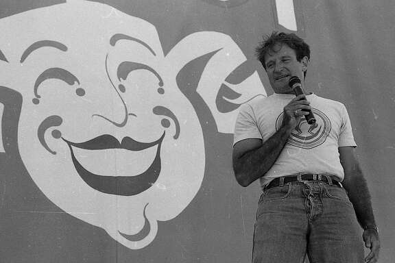 Chronicle Comedy Day 07/25/1987 The Polo Fields in Golden Gate Park Robin Williams