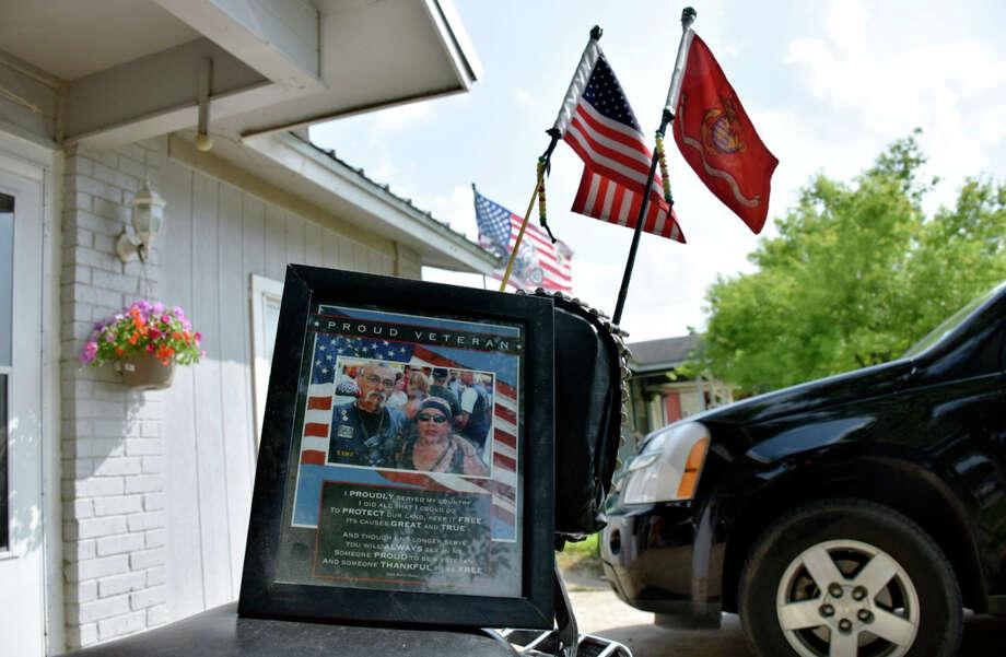Jesus Delgado Rodriguez was killed Sunday in a shootout involving rival motorcycle gangs in Waco. Photo: Mark Wilson, MBO / The San Antonio Express-News