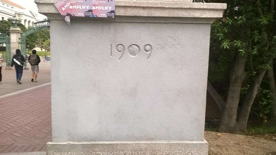 Only true Cal grads know what used to be on this pillar.  Click ahead to read about the hidden secrets and legends of the UC Berkeley campus. Photo: Guy Eric Fairon, Freelance