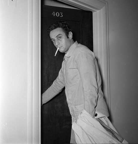 Lenny Bruce after the Jazz Workshop incident 10/3/1961 Photo: Bob Campbell, The Chronicle