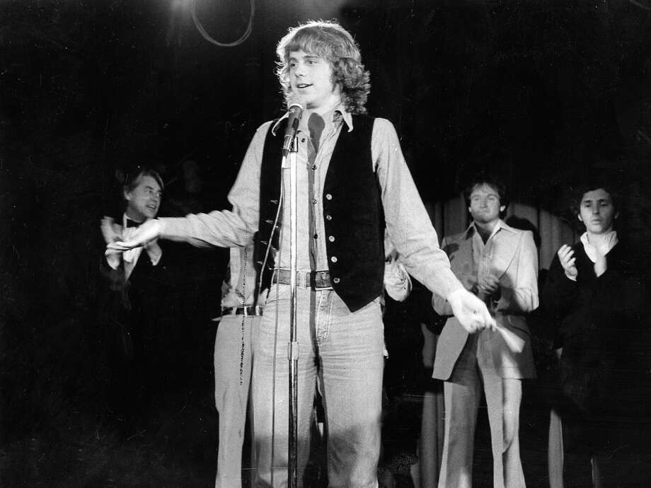 Dana Carvey (1978): Carvey grew up in San Carlos. He was just 23 and sporting fantastic Leif Garrett hair when this photo was taken, one year after he won the San Francisco Comedy Competition. Look for Robin Williams in the background. Photo: Chronicle Archives