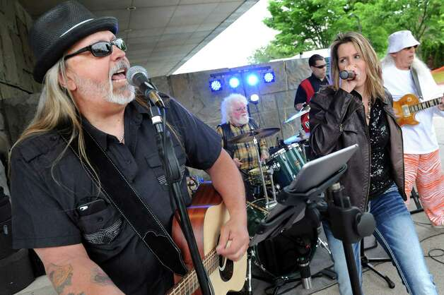 Local band Playin' With Fire performs during the CDPHP Workforce Team Challenge on Thursday, May 21, 2015, in Albany, N.Y. (Cindy Schultz / Times Union) Photo: Cindy Schultz / 00031895A