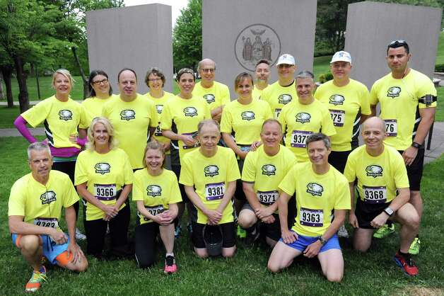 Times Union staff at the CDPHP Workforce Team Challenge on Thursday, May 21, 2015, in Albany, N.Y. (Cindy Schultz / Times Union) Photo: Cindy Schultz / 00031895A
