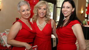 Were you Seen at the 11th Annual Go Red for Women luncheon, a benefit for the American Heart Association, at the Albany Marriott in Colonie on Thursday, May 21, 2015?