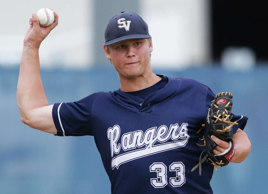 Smithson Valley pitcher Cole McKay is ranked the ninth-best prospect in Texas and 96th in the nation by Baseball America. Photo: Tom Reel /San Antonio Express-News