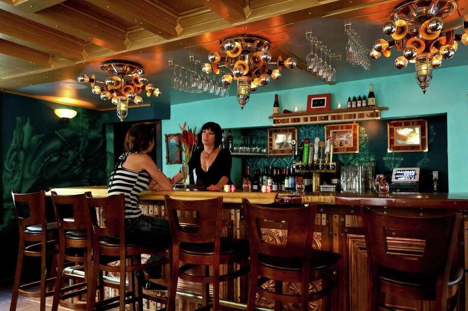 Cocktails at the bar 2 Cents in Key West, Fla. (Michael Marrero/TNS) Photo: Michael Marrero, HO / McClatchy-Tribune News Service / TNS