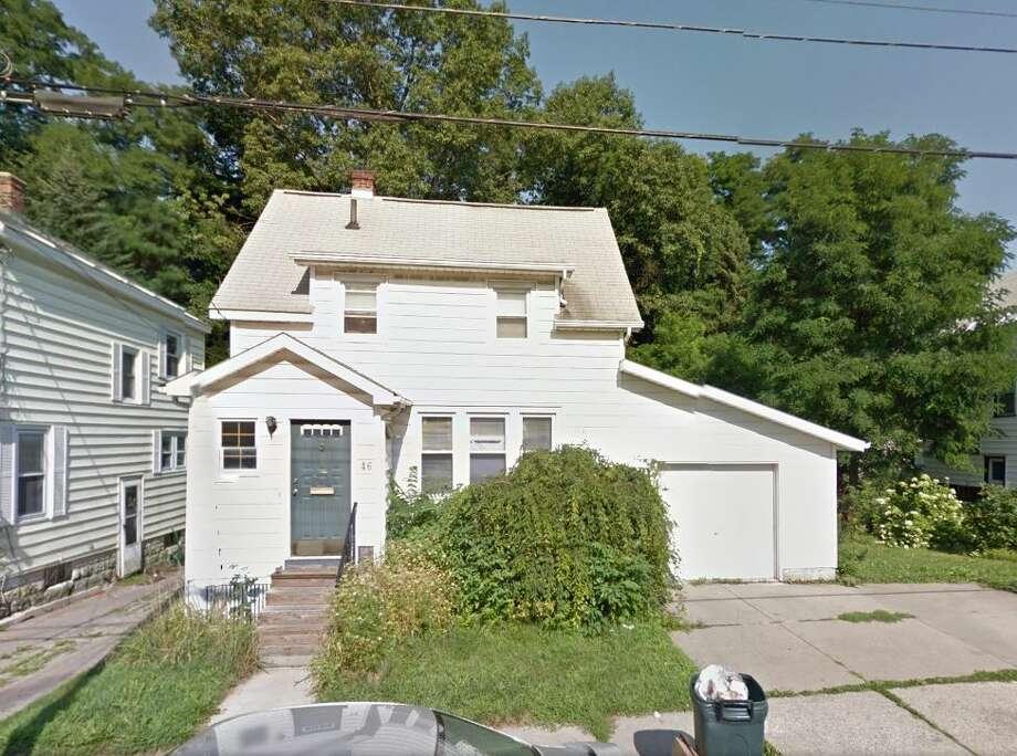 46 Columbia St., Schenectady, $19,000 (Google Maps) Photo: Hornbeck, Leigh