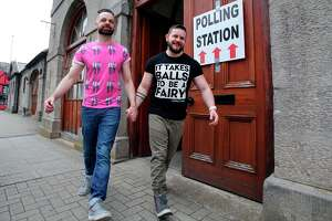 Strong turnout for historic vote on same-sex marriage - Photo