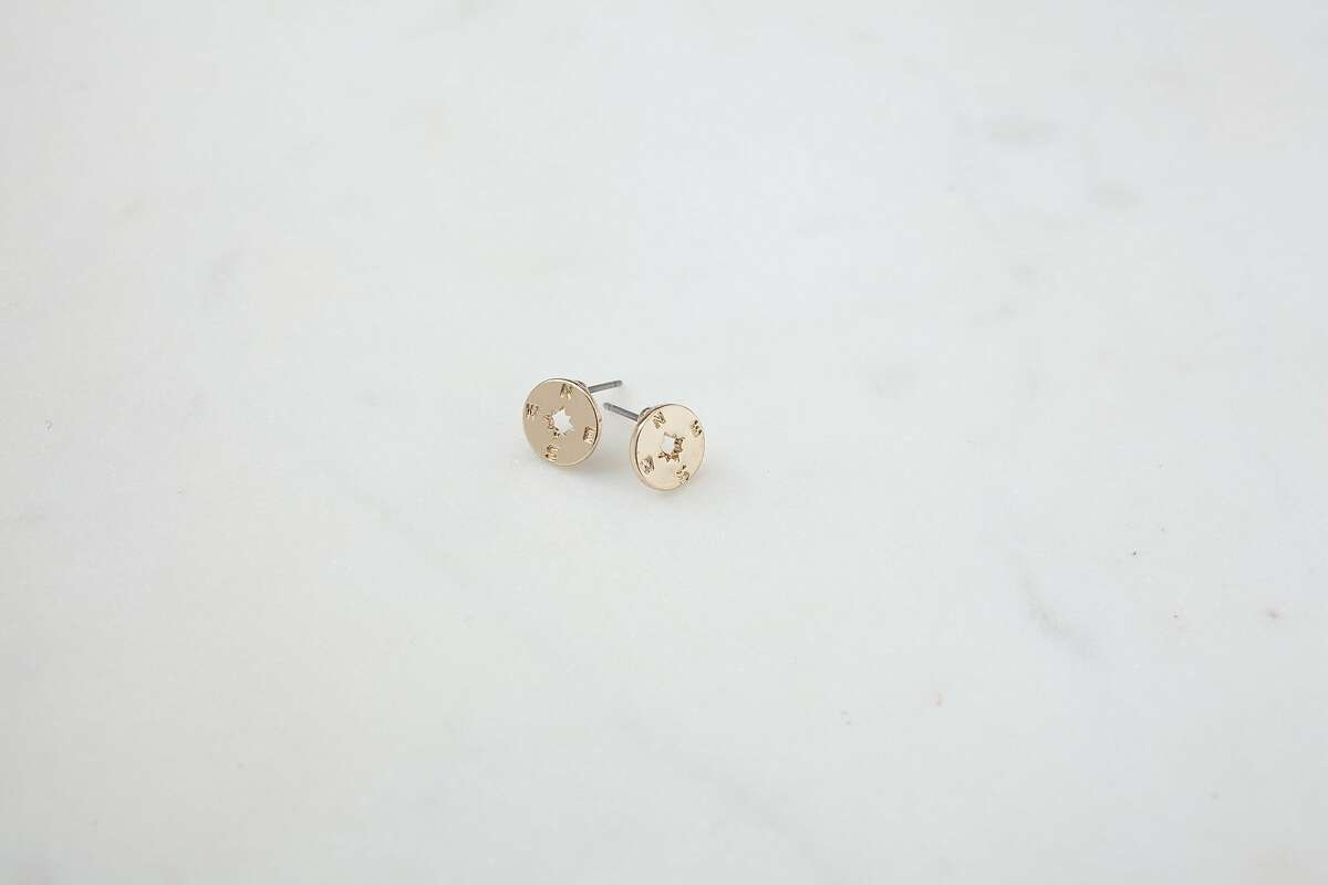 Modern Citizen's Going Places Stud Earrings (Silver) $25.