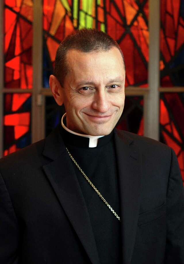 Bridgeport Diocese Bishop Frank J. Caggiano Photo: Gregory A. Shemitz / Connecticut Post