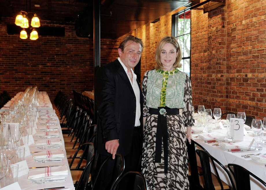 Benjamin Berg and Becca Cason Thrash Photo: Jon Shapley, Staff / © 2015 Houston Chronicle