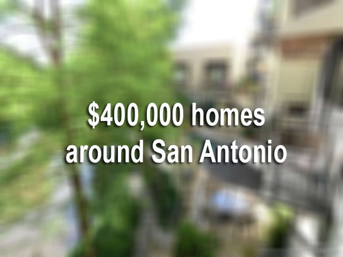 In San Antonio, it is easy to find a nice $400,000 home. But when you go to the ritzy Dominion, that $400,000 will only get you one acre - no house, just an acre of land. While in midtown, you can buy a modern, two-story house for the same amount of money. What kind of house can $400,000 buy you in San Antonio? Click through the slideshow to view San Antonio's various real estate values.