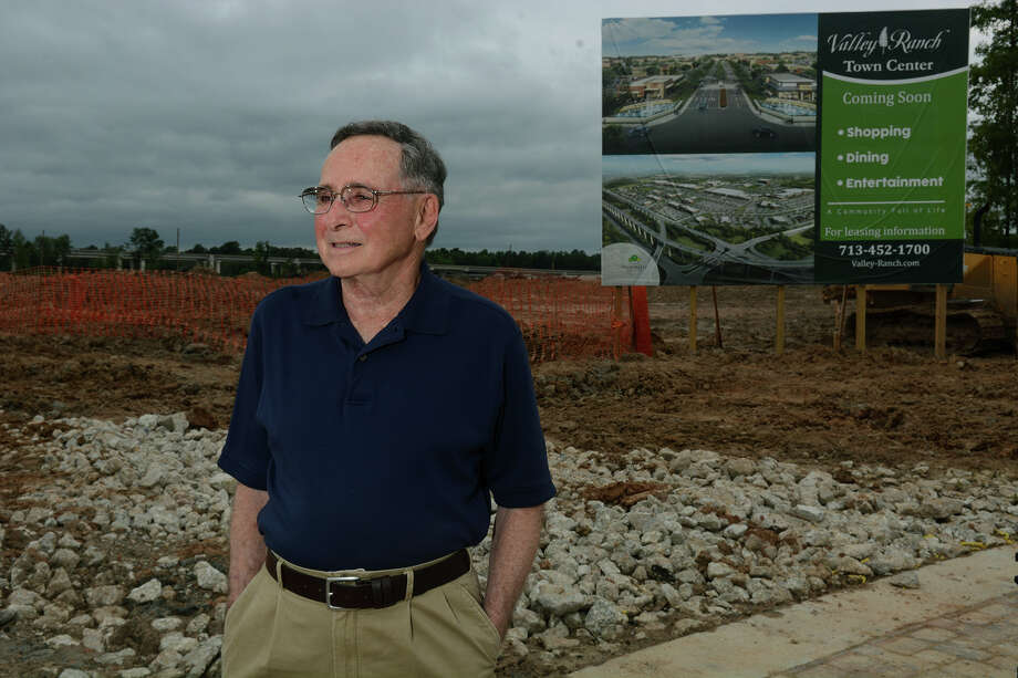 Longtime Kingwood resident Ted Mandel is excited about the proposed changes.  He hopes development will attract better dining options.  Photo: Jerry Baker, Freelance