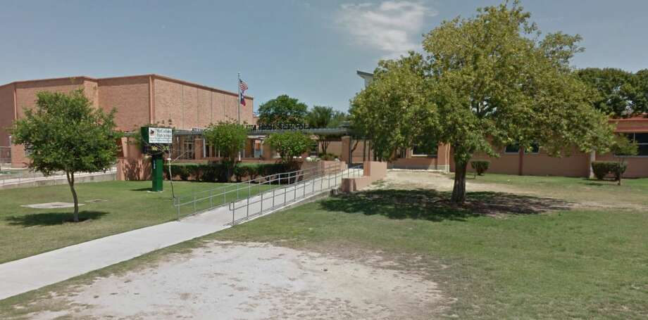 A weapon was confiscated from a McCollum High School student on campus Thursday, according to a letter to parents.