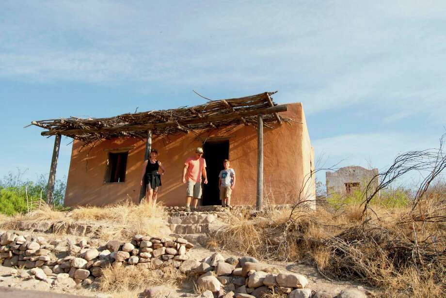 The Contrabando movie set in Big Bend State Ranch Park, created in 1985, could be demolished soon.  Photo: Cory Heikkila