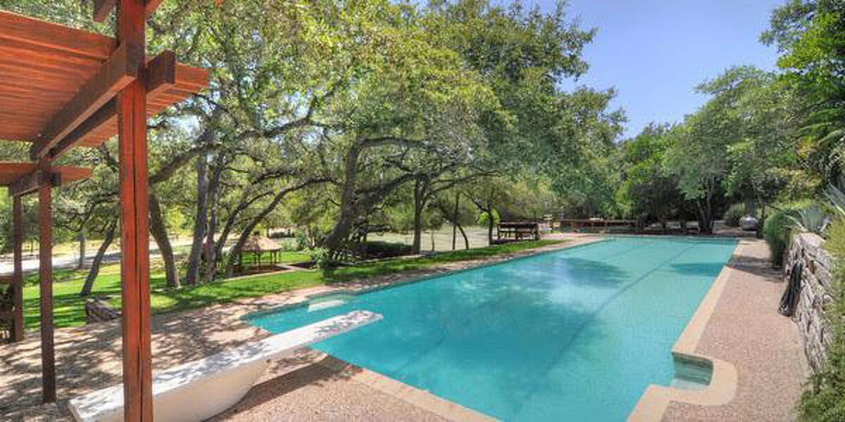 319 Mountain Spring Dr, Boerne Built in 1980, this $1,695,000 estate is a classic property suited for horse-lovers. There are stables and a riding pen, plus plenty of acreage. In addition, there's a swimming pool, tennis courts and a 12-car garage. And the house? Five bedrooms and 3.5 baths over 5,607 square feet.MLS ID: 1048866