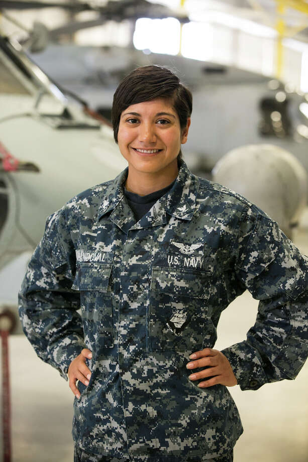 Petty Officer 3rd Class Elizabeth Sandoval is serving in San Diego. Photo: Courtesy Photo