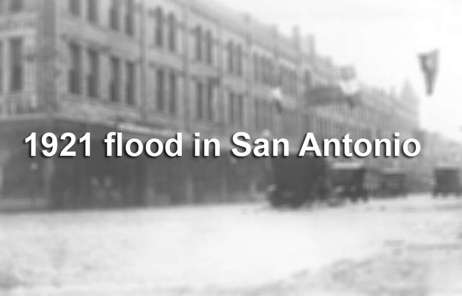 OnSept. 7, 1921, a storm hovering over Taylor and Thrall, both northeast of Austin, caused 23 inches of rainfall in the span of one day. That heavy rainfall soon barreled south towards San Antonio. Photo: File Photo / UTSA Special Collections