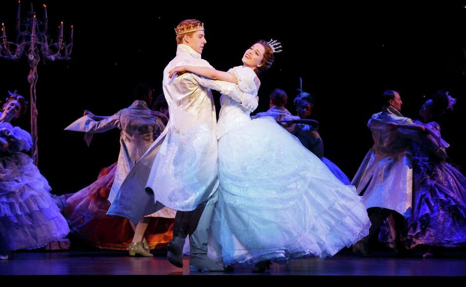 "Andy Jones and Paige Faure star in Richard Rodgers and Oscar Hammerstein's ""Cinderella,"" with a new book by Douglas Carter Beane. Photo: Carol Rosegg"