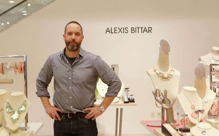 "Alexis Bittar (in Nordstrom in the Galleria) says his favorite spring trends are ""eclectic individualism and the merging of art with fashion."" Photo: Jon Shapley, Staff / © 2015 Houston Chronicle"