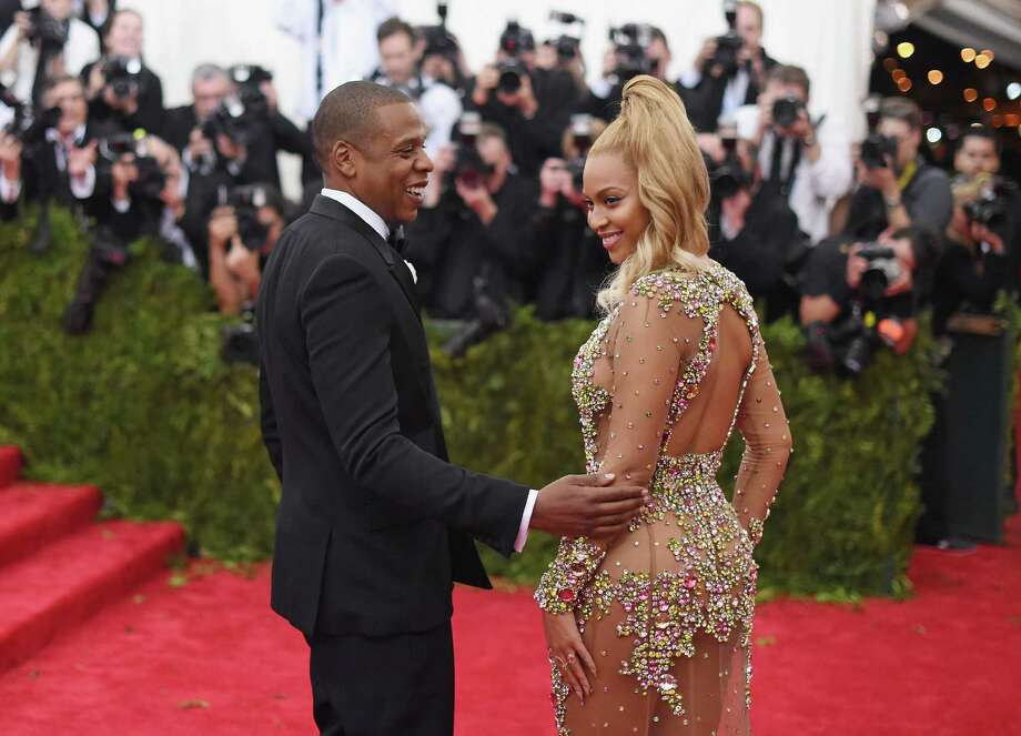 """NEW YORK, NY - MAY 04:  Jay Z (L) and Beyonce attend the """"China: Through The Looking Glass"""" Costume Institute Benefit Gala at the Metropolitan Museum of Art on May 4, 2015 in New York City.  (Photo by Mike Coppola/Getty Images) Photo: Mike Coppola, Staff / 2015 Getty Images"""