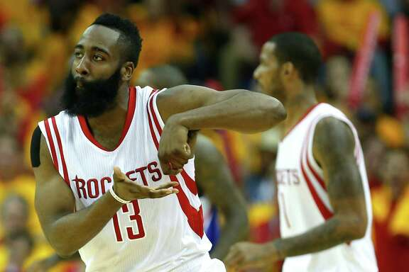 "James Harden won't reveal the meaning behind his ""stirring the pot"" gesture, but it's nationally known."