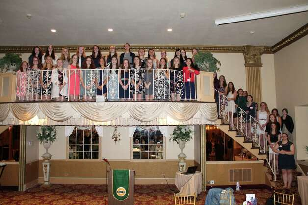 Society of Women Engineers recognizes young women involved in STEM studies. (Sbmitted by Anne Roberts)