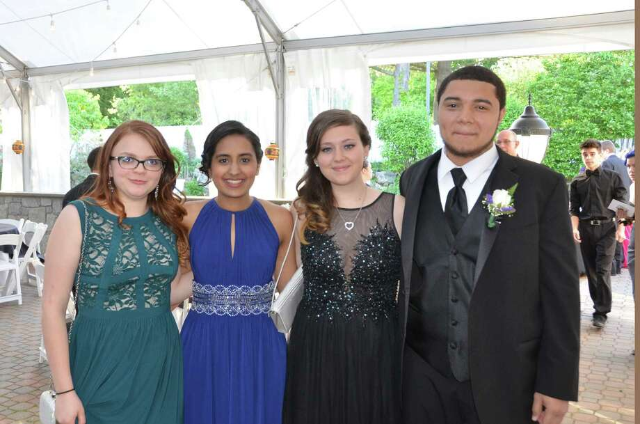 The Danbury High School senior prom was held at the Amber Room Colonnade in Danbury on May 22, 2015. Were you SEEN? Photo: Vic Eng, Vic Eng For Hearst Connecticut Media Group / Vic Eng