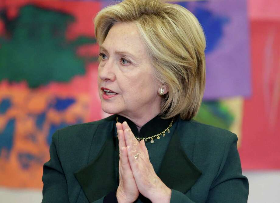 If Hillary Clinton has the skill and toughness to survive the current wave of scandals engulfing her this year and be elected, standards of acceptable behavior for public officials will be dropped again. Photo: M. Spencer Green /Associated Press / AP