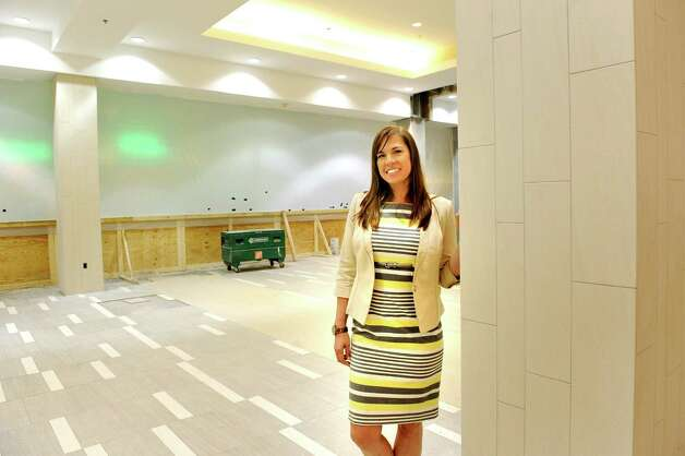 General Manager Connie Stankivicz in the new and improved food court on Wednesday, May 20, 2015, at Colonie Center in Colonie, N.Y. (Cindy Schultz / Times Union) Photo: Cindy Schultz / 00031908A