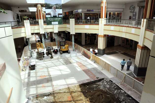 The first floor under construction on Wednesday, May 20, 2015, at Colonie Center in Colonie, N.Y. (Cindy Schultz / Times Union) Photo: Cindy Schultz / 00031908A