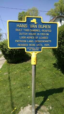 Van Buren home (Marie Allen)