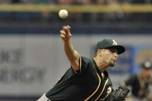 Graveman excels in return to rotation as A's top Rays 5-0 - Photo