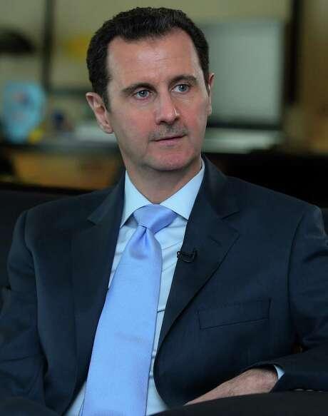 Syrian President Bashar Assad Photo: /AFP / Getty Images / AFP