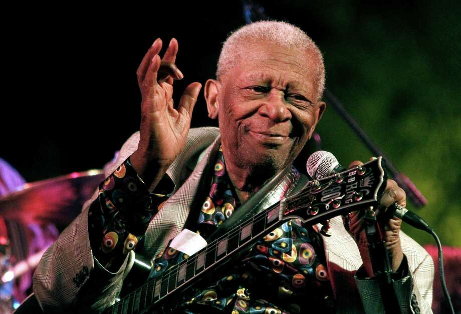 Blues legend B.B. King died May 14 at his home in  Las Vegas. He was honored Saturday. Photo: Rogelio V. Solis / Associated Press / AP