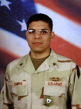 Juan F. Campos McAllen Army Staff Sergeant Died: 6/1/2007, Iraq Photo: Courtesy Photo