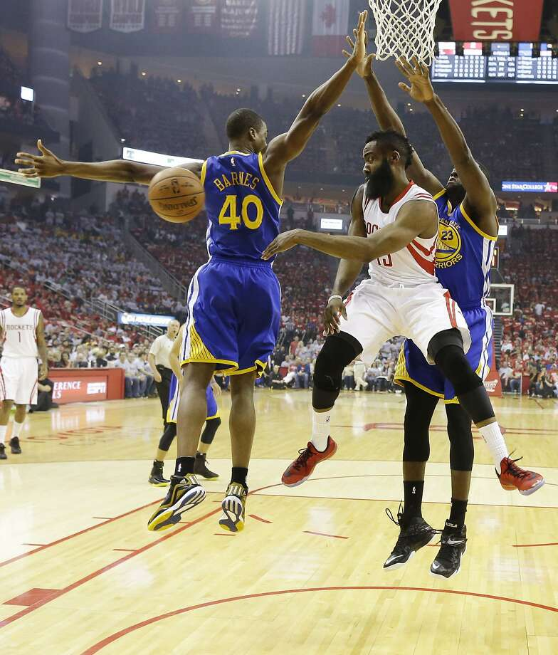 Rockets And The Warriors Game: Warriors Use Tag-team Approach To Stifle James Harden