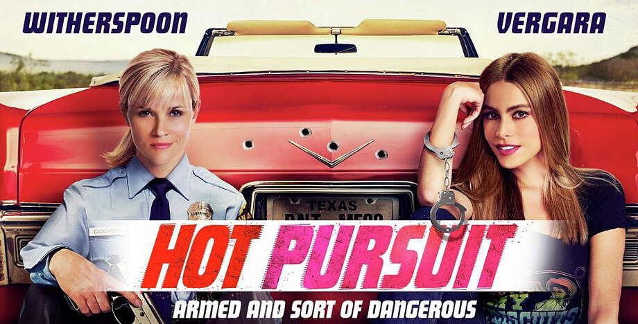 "Reese Witherspoon and Sofia Vergara co-star in the new movie comedy, ""Hot Pursuit."" Photo: Contributed Photo / Westport News"