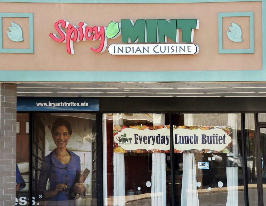 Exterior of the Spicy Mint restaurant in Wolf Road Shoppers Park Thursday May 14, 2015 in Colonie, NY.  (John Carl D'Annibale / Times Union) Photo: John Carl D'Annibale, Albany Times Union / 10031844A