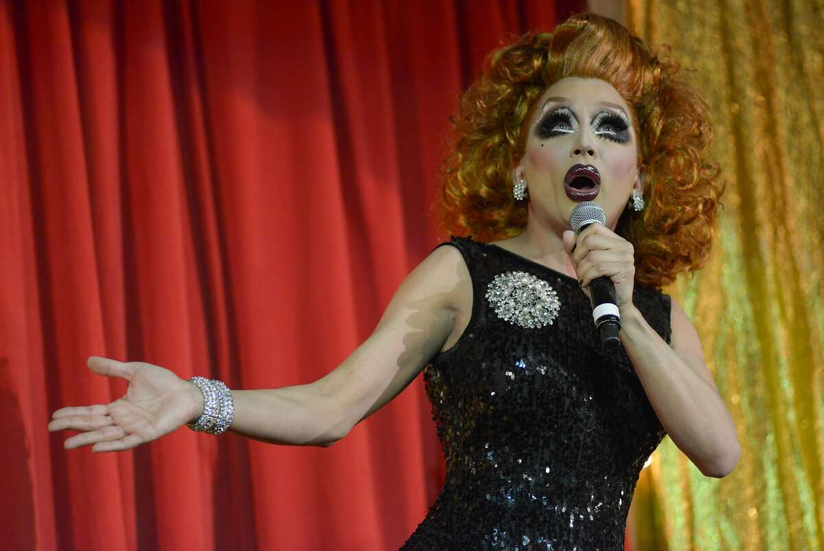 Bianca Del Rio performs at the Drag Queens of Comedy on Saturday, May 23, 2015 in San Francisco, Calif. The Drag Queens of Comedy show featured 11 comedians at the Castro Theater.