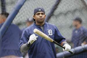 Yoenis Céspedes returns to O.co as a Tiger - Photo